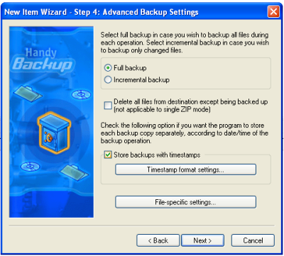 Handy Backup 6.0