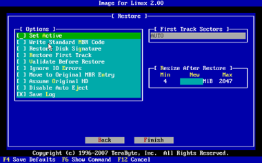 Image for Linux 2.00