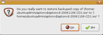 Backup with Ubuntu