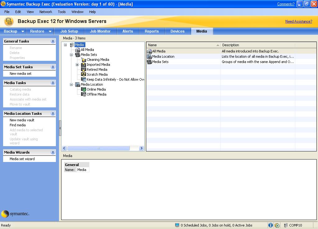 Symantec backup exec cloud storage providers vary