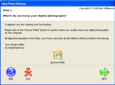 Easy Photo Backup