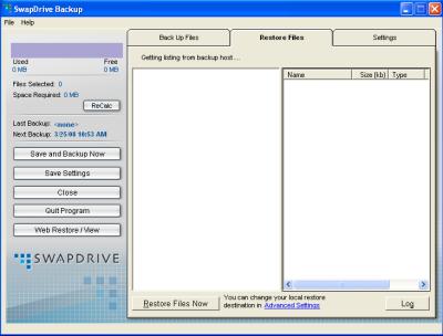 SwapDrive Backup