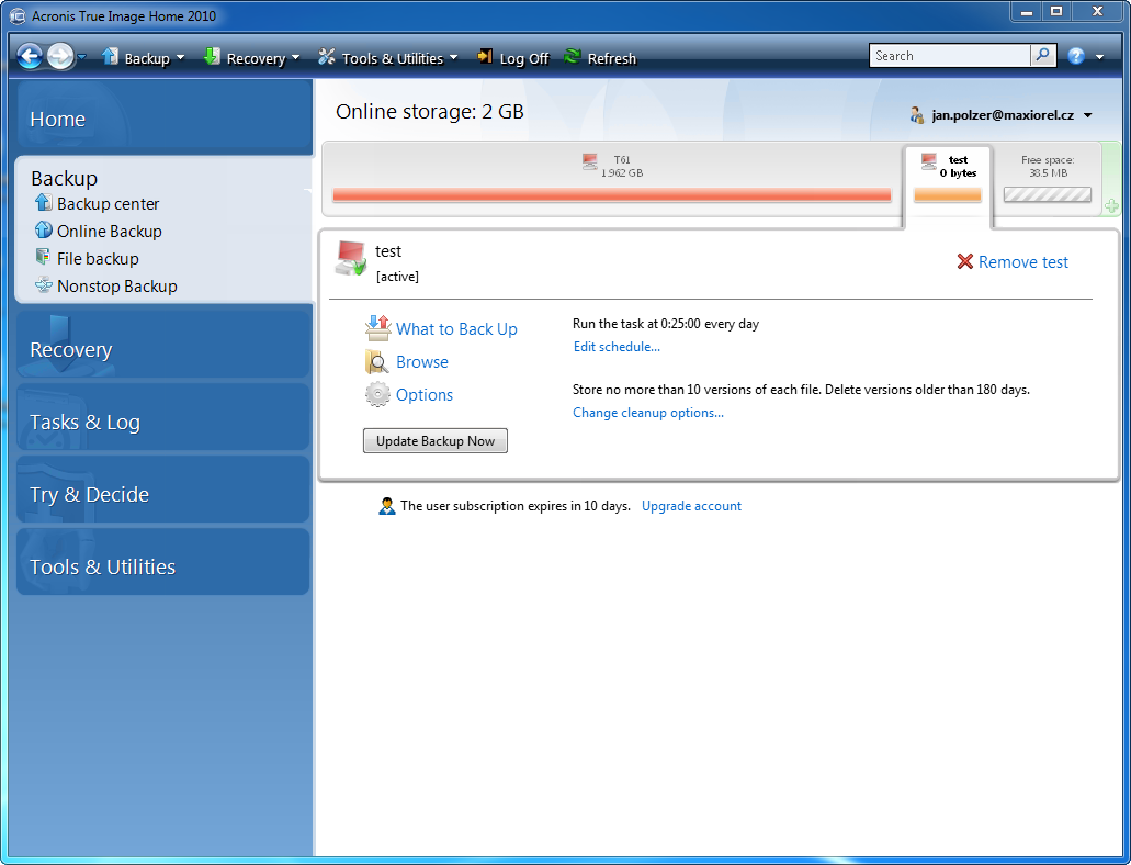 How to use Acronis 3