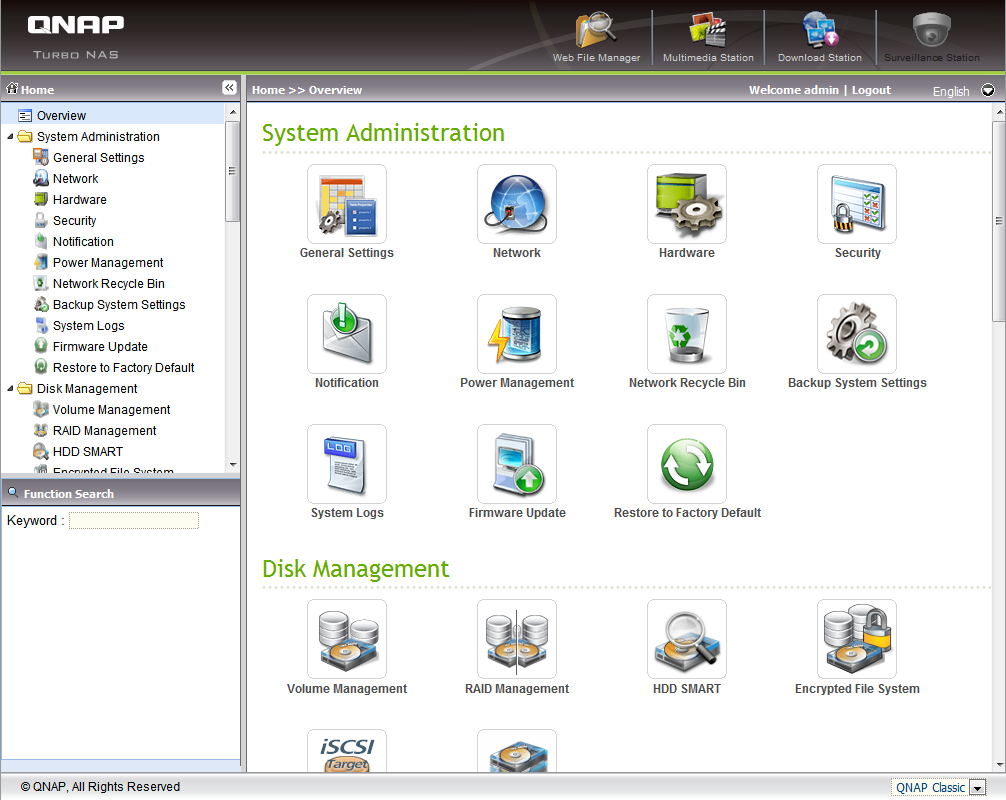 QNAP TurboNAS TS-459 Pro review   Backup HowTo