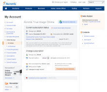 Acronis True Image Online: How to install the client and configure backup