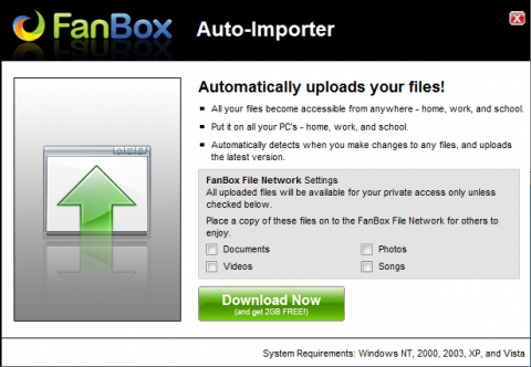 FanBox Auto-Importer tool download