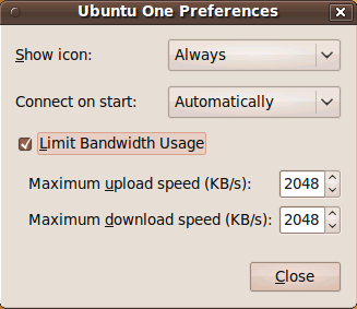 Ubuntu One Backup