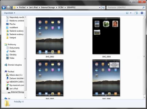 iPad's Internal Storage